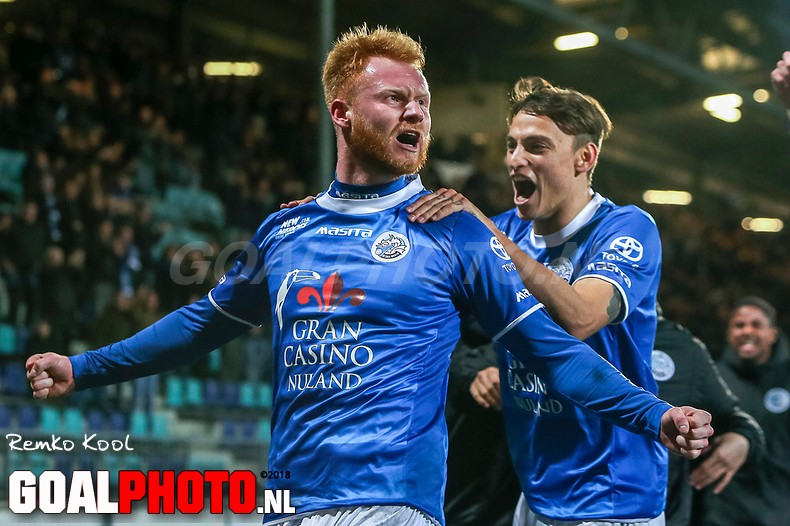 FC Den Bosch blijft koploper in eerste divisie na benauwde zege op NEC