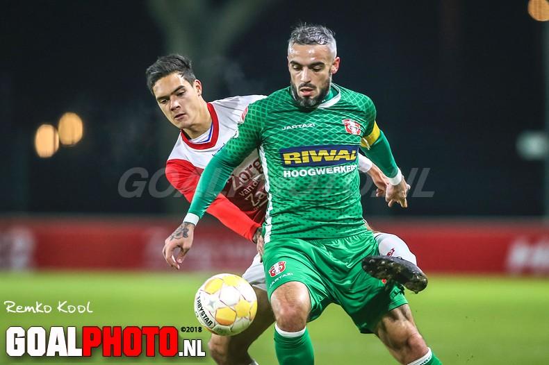 Nick Venema helpt Jong FC Utrecht naar winst op FC Dordrecht
