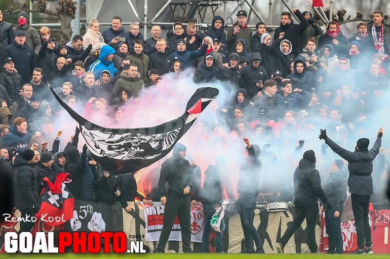 Ajax na sfeervolle open training klaar voor Klassieker