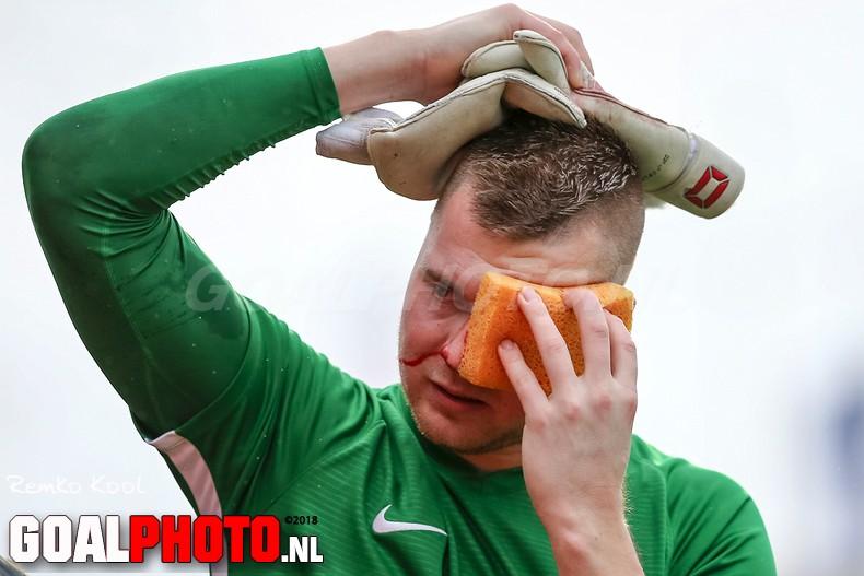 HHC Hardenberg verslaat Spakenburg ondanks blessures doelmannen