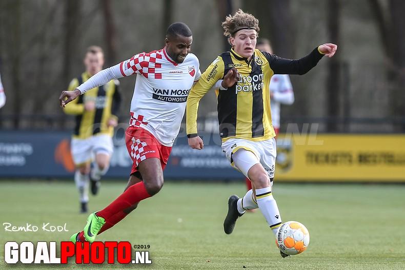 Kozakken Boys pakt in slotfase punt bij Jong Vitesse