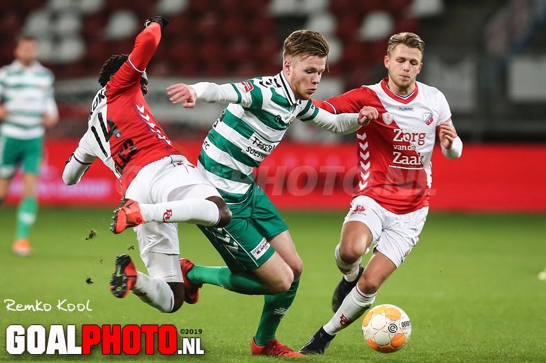 Jong FC Utrecht verliest voor zesde keer op rij