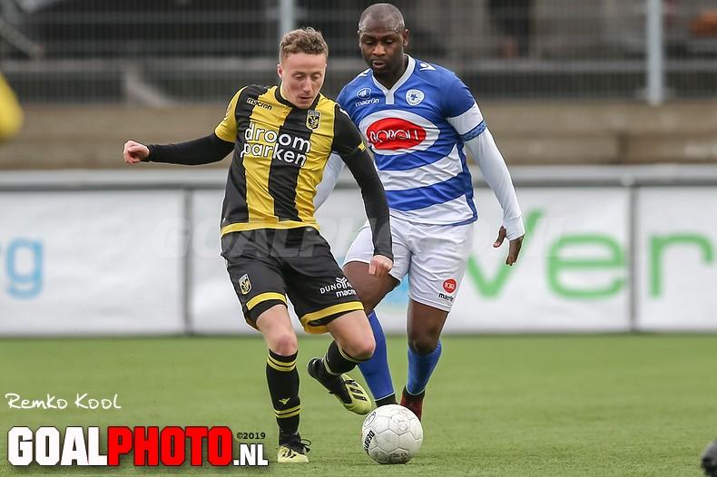 Spakenburg lijdt thuisnederlaag tegen Jong Vitesse