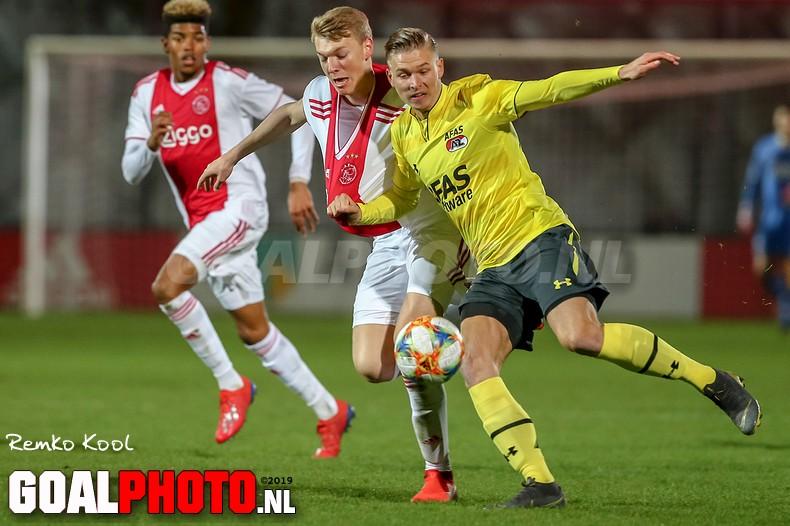 Jong Ajax en Jong AZ blijven steken op remise