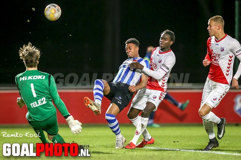 Jong FC Utrecht verliest van FC Eindhoven