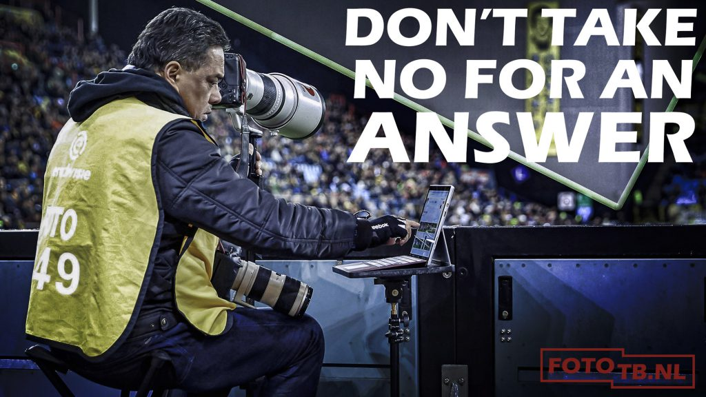 FILM: DON'T TAKE NO FOR AN ANSWER