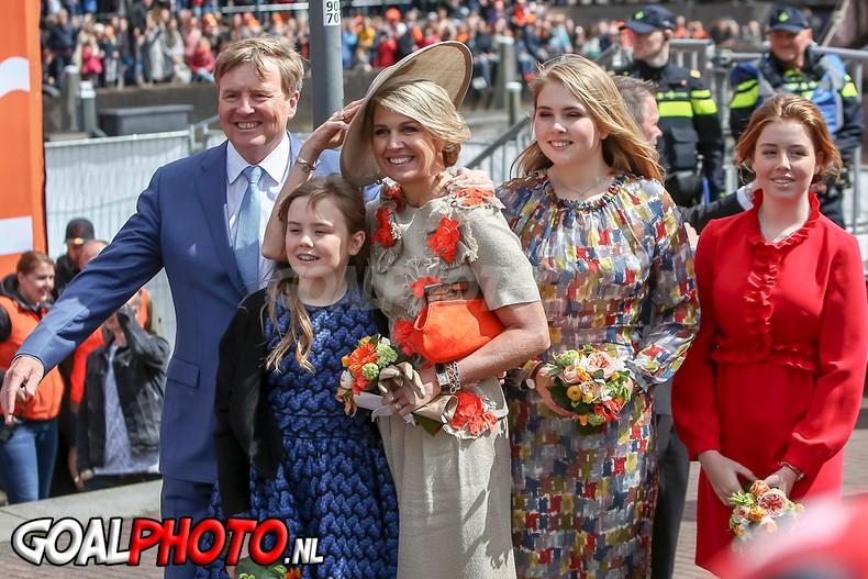 Koninklijke familie heeft 'fantastisch feest' gevierd in Amersfoort