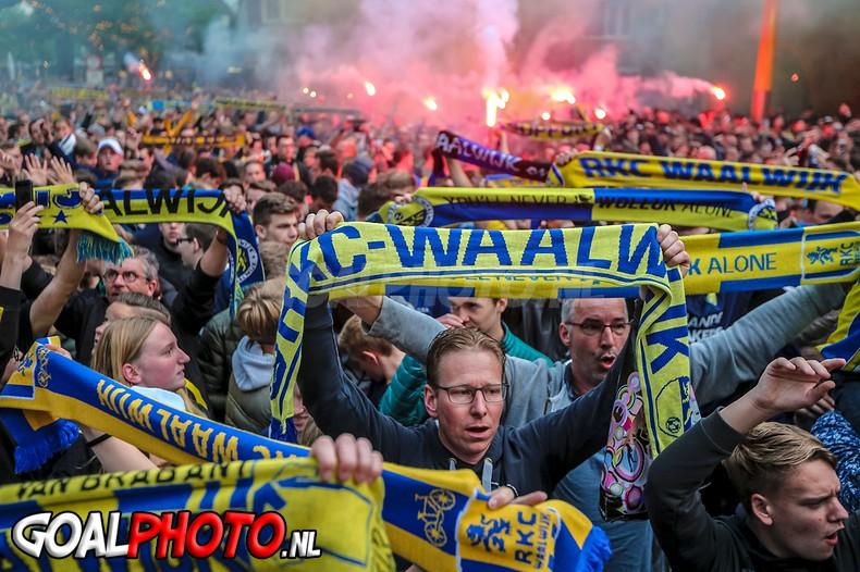 Promotie en huldiging RKC Waalwijk voor eeuwig geëtst in het geheugen