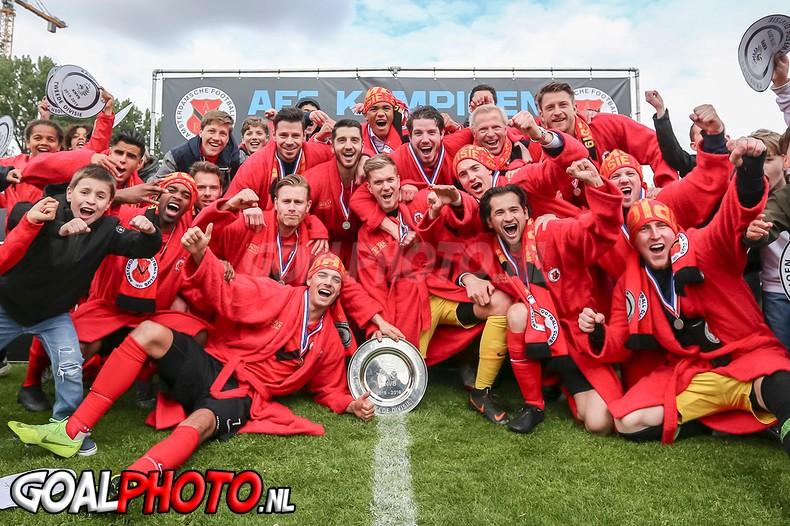 AFC pakt met groot machtsvertoon eerste amateurtitel uit historie