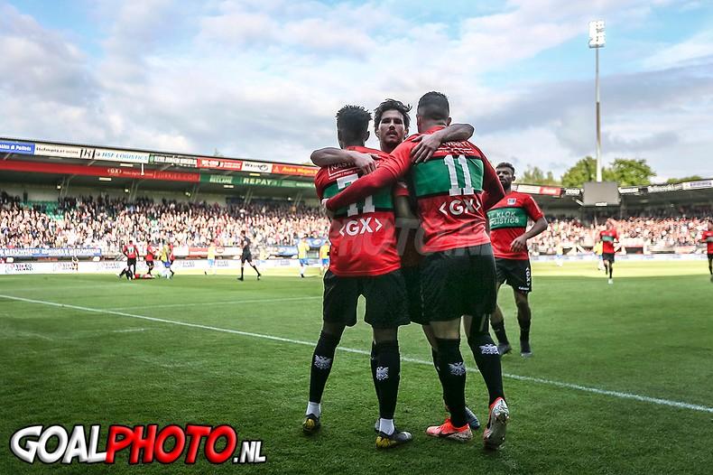 NEC zet flinke stap naar tweede ronde play-offs