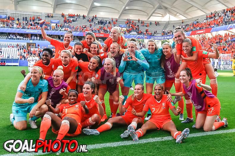 Oranjevrouwen in achtste finales WK tegen Japan na groepswinst