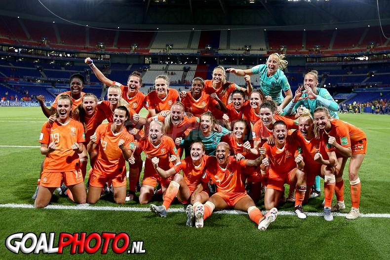 Mooiste foto's van halve finale Oranjevrouwen tegen Zweden